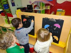 regen tekenen Crafts For Kids, Arts And Crafts, Autumn Theme, Winter, Teaching, Kids Education, Rain, Water, Winter Time