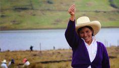 Máxima Acuña de Chaupe, paysanne péruvienne à l'assaut des géants miniers