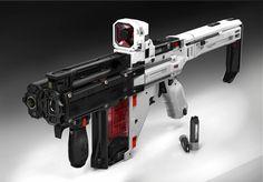Future Weapons, Sci Fi Weapons, Shotgun, Engineer, Firearms, Naruto, Concept Art, Guns, Bloom