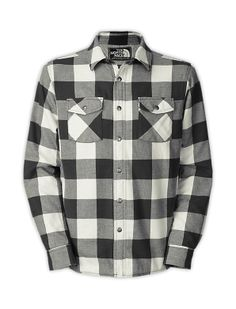 The North Face Men's Shirts & Sweaters MEN'S STONE CAT LINED FLANNEL
