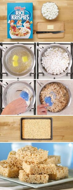 The original everyday treat! Bring the whole family together with a batch of homemade Rice Krispies and let the creativity flow. No baking necessary!
