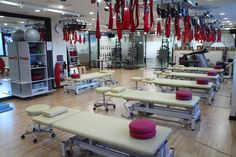 Redcord Therapy as part of modern-day physiotherapy clinics worldwide.