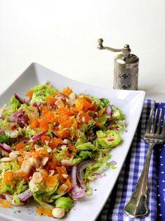 Kelbimbós-mogyorós saláta Bruschetta, Ethnic Recipes, Food, Essen, Meals, Yemek, Eten