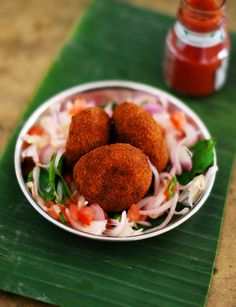 Indian style fish cakes which can be made and freezer friendly too.