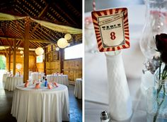 Another Carnival-themed wedding - some nice ideas here as well; click through!
