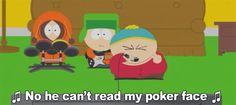 South park + poker face + karaoke = Amazing