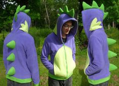 Hey, I found this really awesome Etsy listing at http://www.etsy.com/listing/152932753/spike-my-little-pony-hoodie-costume