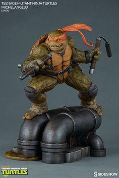 michelangelo- Sideshow Collectibles 公司在取得了Nickelodeon 品牌忍者龜 Teenage Mutant Ninja Turtles