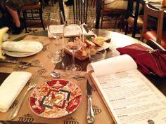 Restaurante Toto Barcelona My Foodhunter #barcelona #totorestaurante #slowfood #menu #design