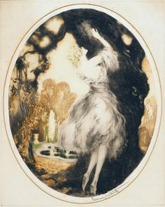 Louis Icart - Fidelity (My Secret Love), 1927