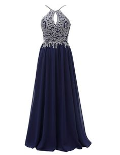 FeliciaDress Prom Dresses Halter Chiffon Applique Long Short Women Formal Evening Gowns 2018 -- For more information, visit image link. (This is an affiliate link) Junior Dresses, Prom Dresses, Formal Dresses, Long Shorts, Dress Brands, Dress Making, Evening Gowns, Beautiful Dresses, Fashion Brands