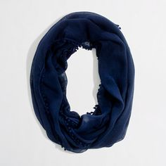 Factory infinity scarf with bubble trim - Handbags & Accessories - FactoryWomen's New Arrivals - J.Crew Factory