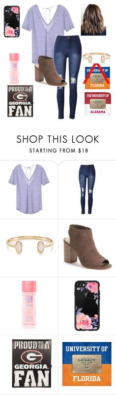 """""""RTD!!!!!"""" by jweber-14 ❤ liked on Polyvore featuring Victoria's Secret, Kendra Scott, Apt. 9, Casetify and Legacy"""