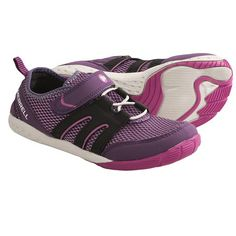 Merrell Barefoot Trail Glove Running Shoes - Minimalist (For Kids and Youth) in Wineberry