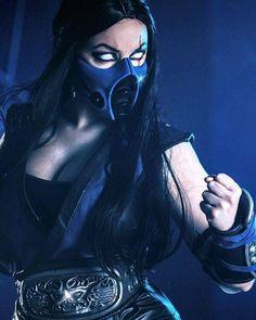 Sub Zero from Mortal Kombat Cosplayer: Jaycee Cosplay Photographer: Studio 95 Photographix