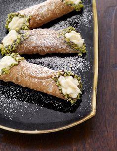 Picture of Chocolate-Pistachio Cannoli Recipe