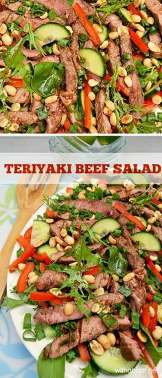 Delicious , filling and healthy Beef Salad recipe