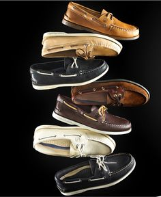 Sperry Top-Sider Authentic Original A/O Boat Shoes - Boat Shoes - Men - Macy's