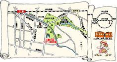 Musée Ghibli : la carte