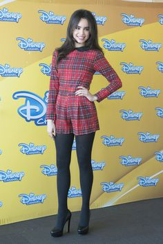 Sofia Carson in pantyhose Madrid June 2015 Fashion Tights, Tights Outfit, Pantyhose Outfits, Nylons, Sophia Carson, Pantyhosed Legs, Look Star, Pernas Sexy, Zendaya Style