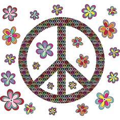 WallPops Peace Wall Art Kit -