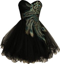 Metallic Peacock Embroidered Holiday Party Prom Dress Junior Plus Size  So pretty!