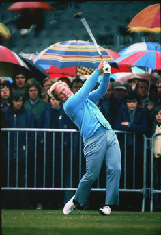 Jack Nicklaus plays at 1972 British Open at Muirfield. Golf Images, Golf Pictures, Sports Images, Sports Photos, Pga Tour Players, Famous Golfers, Augusta National Golf Club, Golf Art, British Open