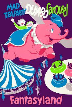 Dumbo Cross Stitch, Disney Vintage Disney Poster, Disney Cross Stitch, Dumbo, Dumbo Pattern by New York by NewYorkNeedleworks on Etsy Walt Disney, Disney Magic, Disney Dumbo, Disney Amor, Disney Love, Disney Parks, Disney Theme, Disneyland Vintage, Disneyland Rides