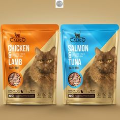 CALICO need a design for dry cat food bag Product packaging contest design Pet Branding, Cat Food Brands, Medicine Packaging, Cat Diet, Natural Pet Food, Dry Cat Food, Food Packaging Design, Dog Feeding, Product Packaging