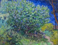 """Lilacs"" (Saint-Rémy. May 1899) [F579] By Vincent van Gogh, from Zundert, the Netherlands (1853-1890) oil on canvas; 73 x 92 Place of creation: Saint Paul de Mausole (the asylum), Saint-Rémy-de-Provence, Provence, France © Государственный Эрмитаж. The State Hermitage museum. Official page., St. Petersburg, Russia http://www.arthermitage.org/ https://www.facebook.com/state.hermitage"