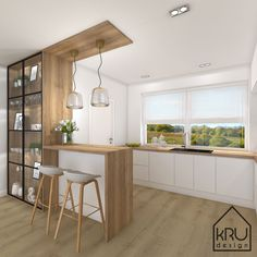 321 Küche oben Best Way To Tackle Cleaning Do you have one of those really big, filthy, completely Kitchen Room Design, Kitchen Cabinet Design, Modern Kitchen Design, Living Room Kitchen, Home Decor Kitchen, Interior Design Kitchen, Home Kitchens, Kitchen Upstairs, Kitchen Modular