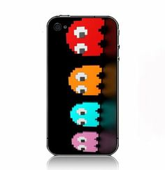 Video Games Ghosts Pac-Man Hardcase hülle zubehör: Amazon.de: Elektronik