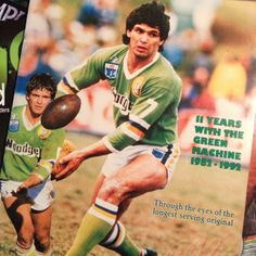 FLASHBACK: Canberra Raiders five eighth Chris O'Sullivan on his retirement, an original Raider from 1982.