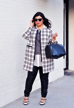 10 Plus-Size Street Style Stars to Follow Right Now via @WhoWhatWear