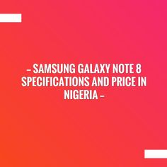 New on my blog! Samsung Galaxy Note 8 specifications and price in Nigeria http://feedproxy.google.com/~r/Kemtechie/~3/N-sr0rC_ODQ/samsung-galaxy-note-8-nigeria.html?utm_campaign=crowdfire&utm_content=crowdfire&utm_medium=social&utm_source=pinterest