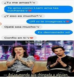 Read from the story Memes de One Direction by (𝖒𝖚𝖘𝖊) with 650 reads. One Direction Jokes, I Love One Direction, One Ditection, Harry Styles Memes, Larry Shippers, You Stupid, Cameron Boyce, Kid Memes, Spanish Memes