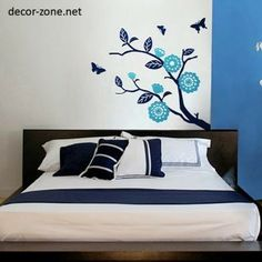 Painting Ideas For Bedroom Walls red bedroom wall painting design ideas | wall mural | pinterest