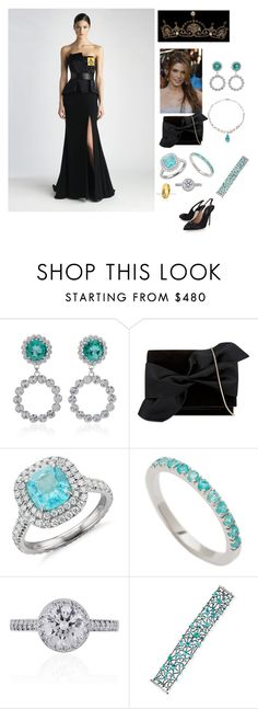"""2023 - Queen Mathilde 50th Birthday Reception"" by dezac-novaes on Polyvore featuring Alessandra Rich, Victoria Beckham, H.Stern, Blue Nile, Joana Salazar, Tiffany & Co., Alexander Laut and Dolce&Gabbana"