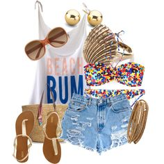 beach bum- such a cute outfit!