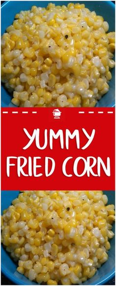Yummy fried corn #corn #homecooking