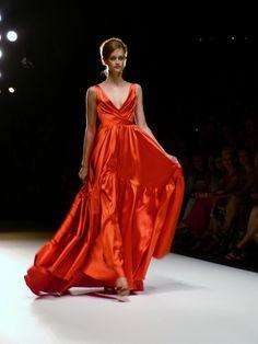 Model at MINX by Eva Lutz Spring/Summer 2013 - Mercedes Benz Fashion Week