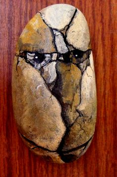 Just a rock head.  I love this one.  By Cat Noble