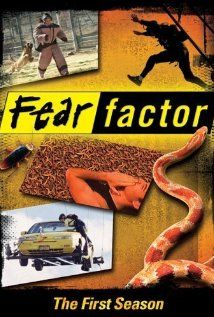 Fear Factor... Joe Rogan enjoys his job alittle too much:-)