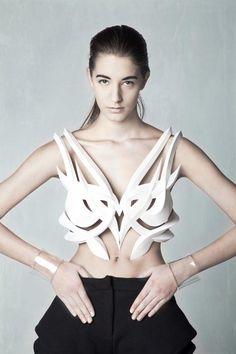Galerie photos de créations de mode imprimées en 3D
