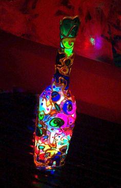 Art Noir Night Lights, Art Noir lamps are a beautiful accent anytime but best enjoyed as a night light.