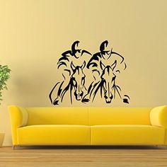 Wall Decal Vinyl Sticker Sport Gym Horserace Decor Sb1044 ElegantWallDecals http://www.amazon.com/dp/B016YAZG9O/ref=cm_sw_r_pi_dp_xj6lwb0R15DSM