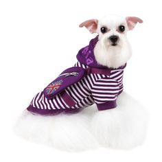 Authentic Puppia Brit Hooded Shirt, Purple, Small * Check this awesome product by going to the link at the image. (This is an affiliate link and I receive a commission for the sales) #MyPet