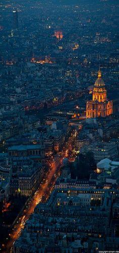 Dome des Invalides - Paris. repinned by http://www.beyond-london-travel.com/London-to-Paris.html