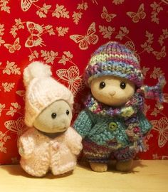 MOM, you have to knit these for me!!! too cute...