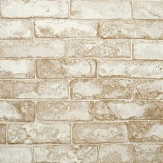 FREE SHIPPING! Shop Wayfair for York Wallcoverings Modern Rustic Rustic Brick 33'  x 20.5 Toile Embossed Wallpaper - Great Deals on all Decor products with the best selection to choose from!